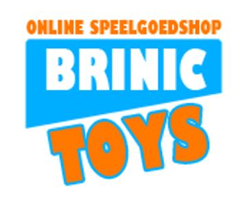 Krijg met de kortingscode 10% korting op al het speelgoed bij Brinic Toys