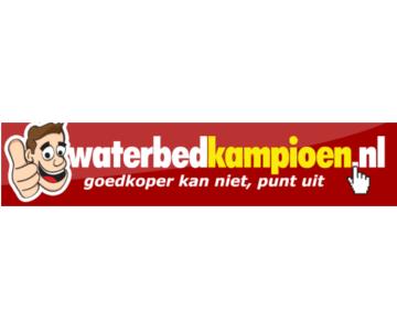 Een compleet waterbed voor maar €549,- bij Waterbedkampioen.nl