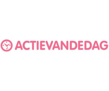 Katoenen dekbedovertrek vanaf €14,95 bij Actievandedag