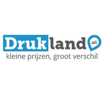10% korting op alle visitekaartjes bij Drukland.nl