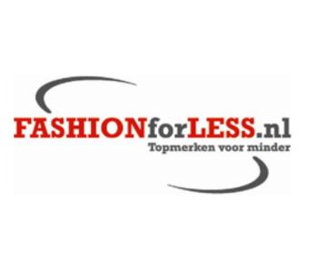 Krijg met de kortingscode 5% korting op alles bij Fashionforless.nl